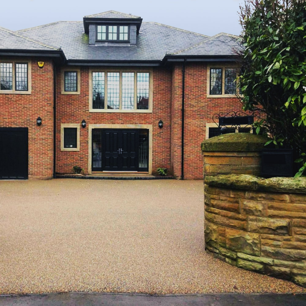 resin driveway services in London