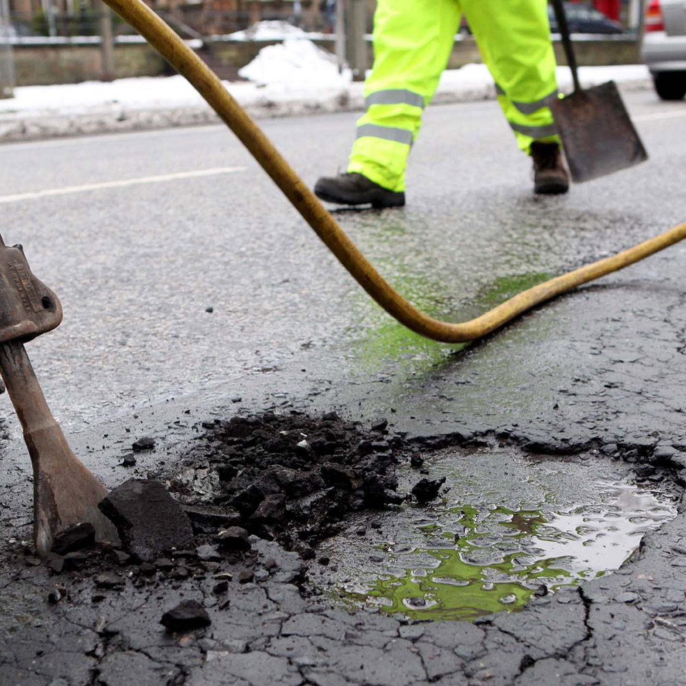 Pothole Repair Company Canary Wharf